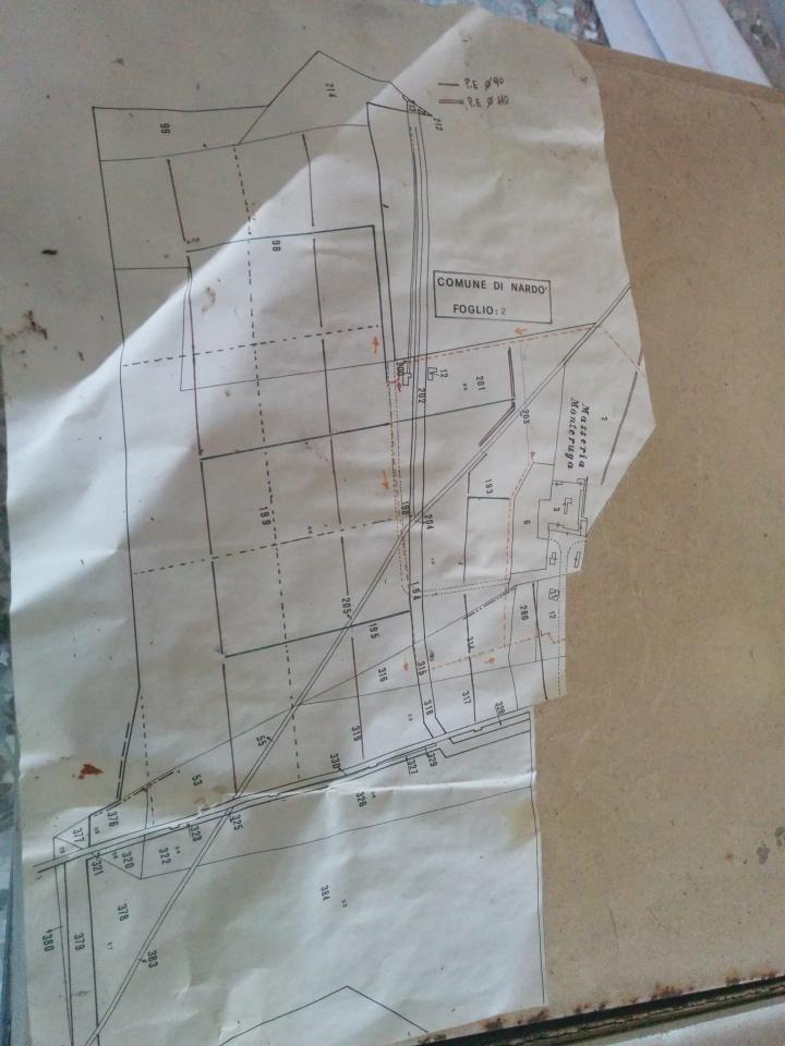 Köyün okulunda bulduğum Monteruga Çiftliği'nin planı.