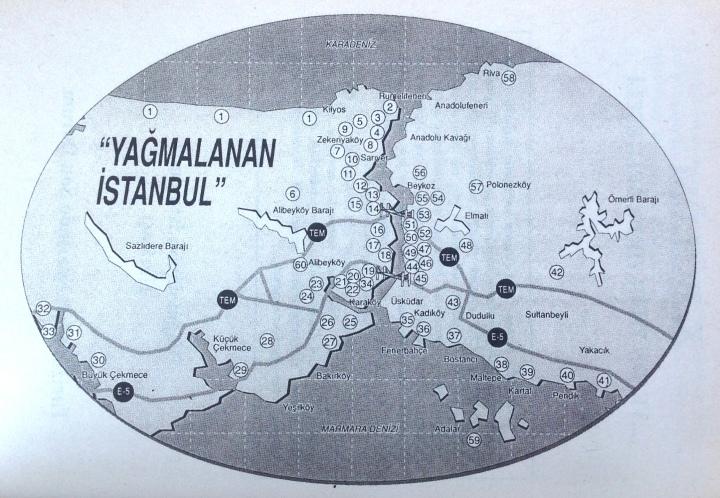 Yağmalanan İstanbul Haritası - Oktay Ekinci (1994)