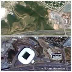 Ali Sami Yen yıkılsın, ormanlar 'Arena''laşsın