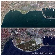 Taksim Meydanı'na alternatif gösterilen Yenikapı dolgusu