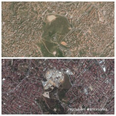 Çamlıca Tepesi'ni Camii inşaatı ile betona boğmak
