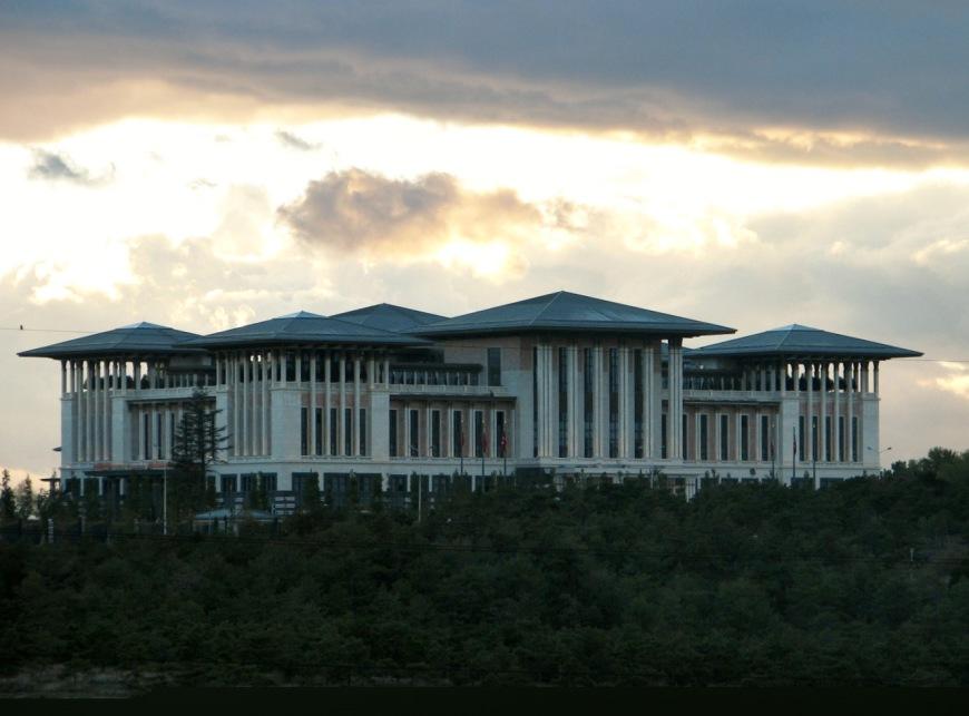 New Presidential Compound (Ak Saray) in Ankara, Turkey. PHOTO: Wikimedia Commons MUST CREDIT